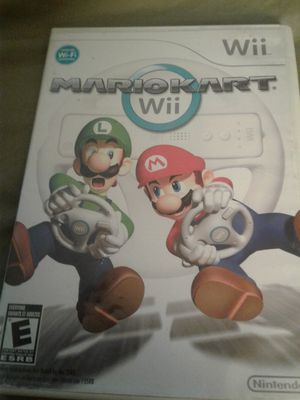 Mario cart wii game for Sale in Fort Washington, MD