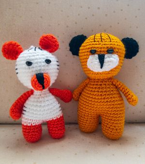 Amigurumi Pattern crochet amigurumi animals – Amigurumi Patterns | 339x300