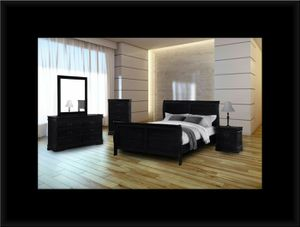 11pc black bedroom set for Sale in McLean, VA