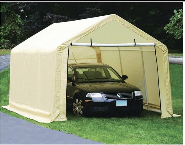 PORTABLE GARAGE CAR PORT COVER (cover only)WITH EVERYTHING ...
