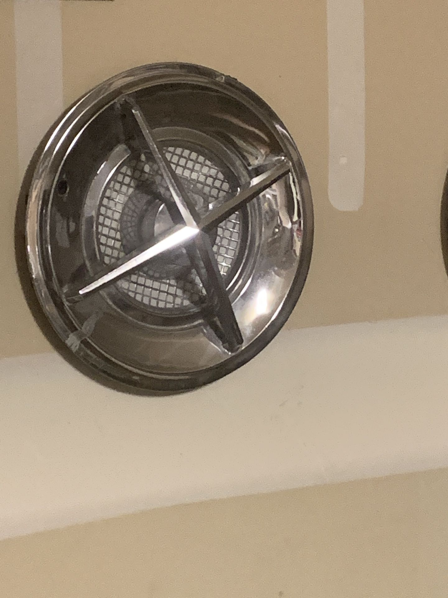 Old crossbar hubcaps