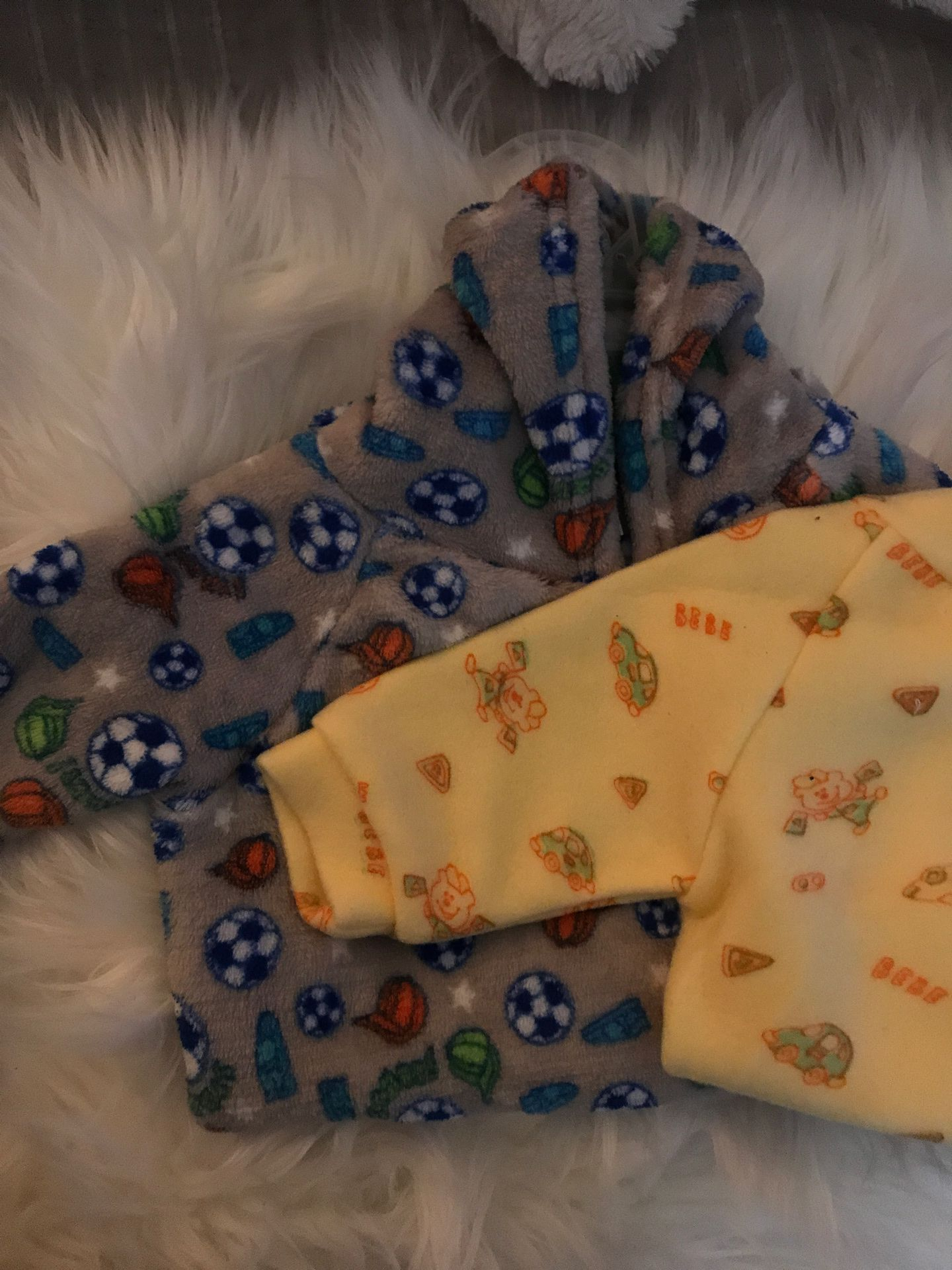 Warn new born baby onesies
