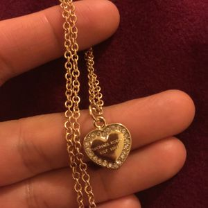 Mk Michael Kors heart necklace chain for Sale in Colesville, MD