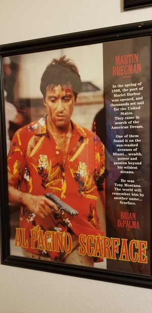 [RARE]SCARFACE FRAME for Sale in El Paso, TX