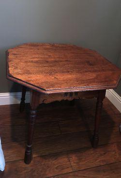 Antique beside table . Thumbnail