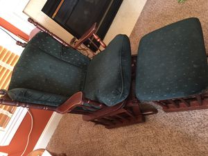 Rocking chairs with ottoman for Sale in Lorton, VA