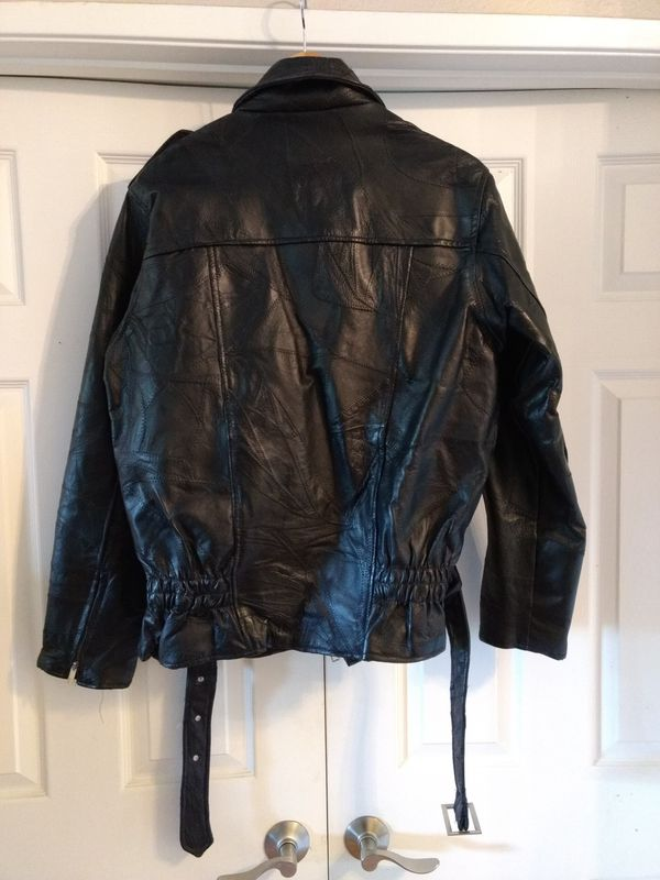 Leather Motorcycle Riding Jacket Medium For Sale In Riverside Ca