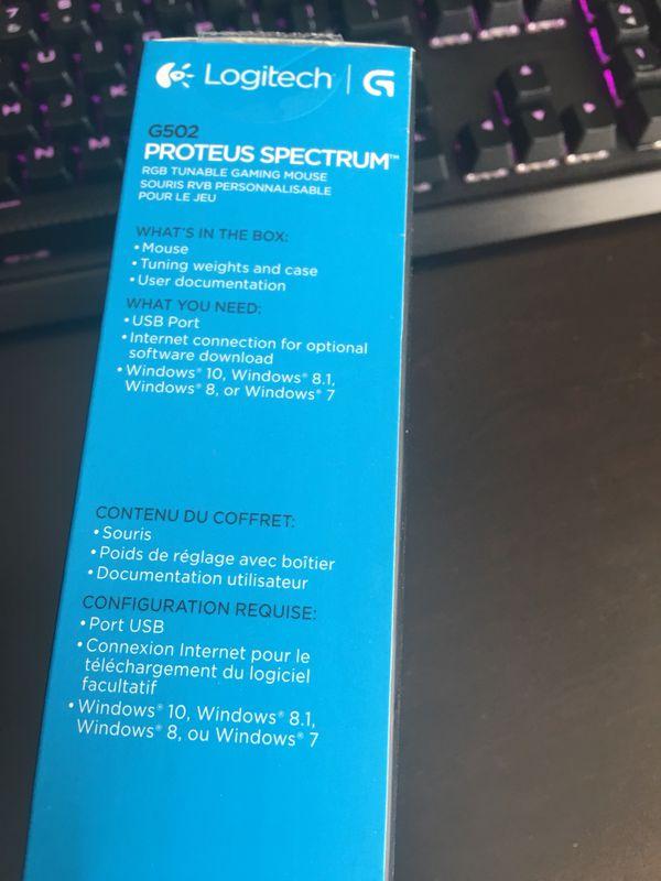Logitech G502 Proteus Spectrum Rgb Tunable Gaming Mouse Excellent