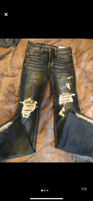 Photo American eagle boot cut jeans