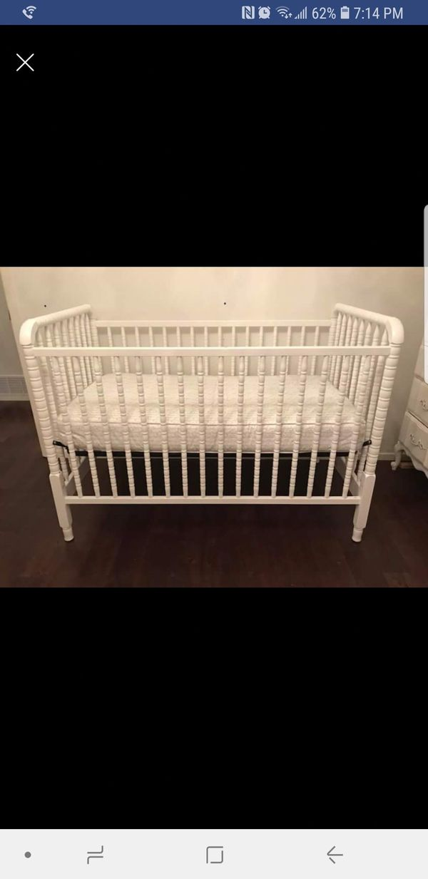 white jenny lind crib baby kids in dallas tx offerup