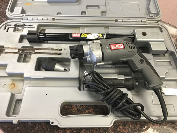 Senco Duraspin DS300 Screw Gun SG-2500 VSR SCREWDRIVER plus attachments  tools for Sale in Austin, TX - OfferUp