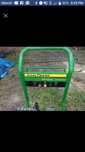 John Deere 3800psi Pressure Washer for Sale in Umatilla, FL