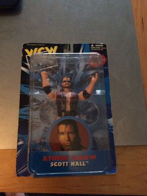 WCW wrestling action figure Atomic Elbow for Sale in Orlando, FL