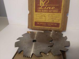 Photo Kline blades and dados 6 5/8 center hole