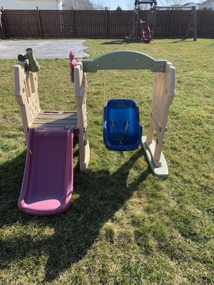 Photo Little Tikes Toddler Swing and Slide