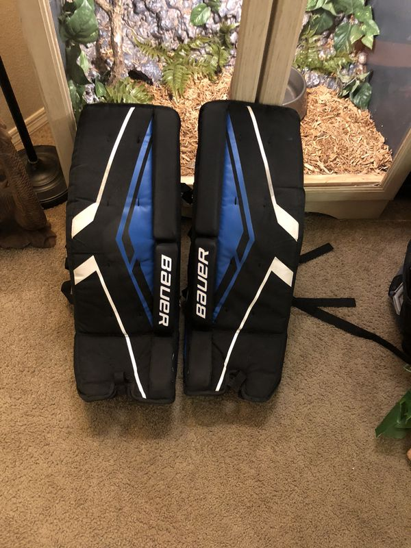 Ball hockey Bauer goalie pads for Sale in Land O' Lakes, FL - OfferUp