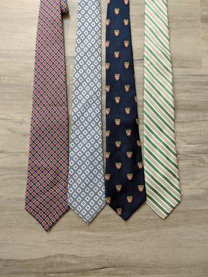 Various Men's Ties - Ralph Lauren, Tommy Hilfiger, Lands End, Tasso Elba for Sale in Falls Church, VA