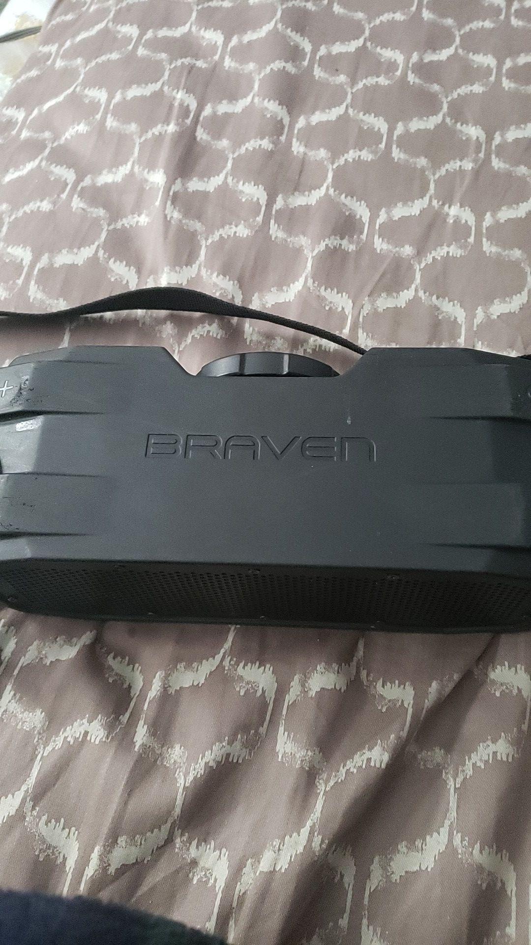 Braven x bluetooth speaker
