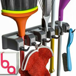 Broom Holder and Garden Tool Organizer Up to 1.25-Inches Thumbnail
