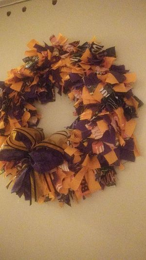 Halloween wreath for Sale in Farmville, VA