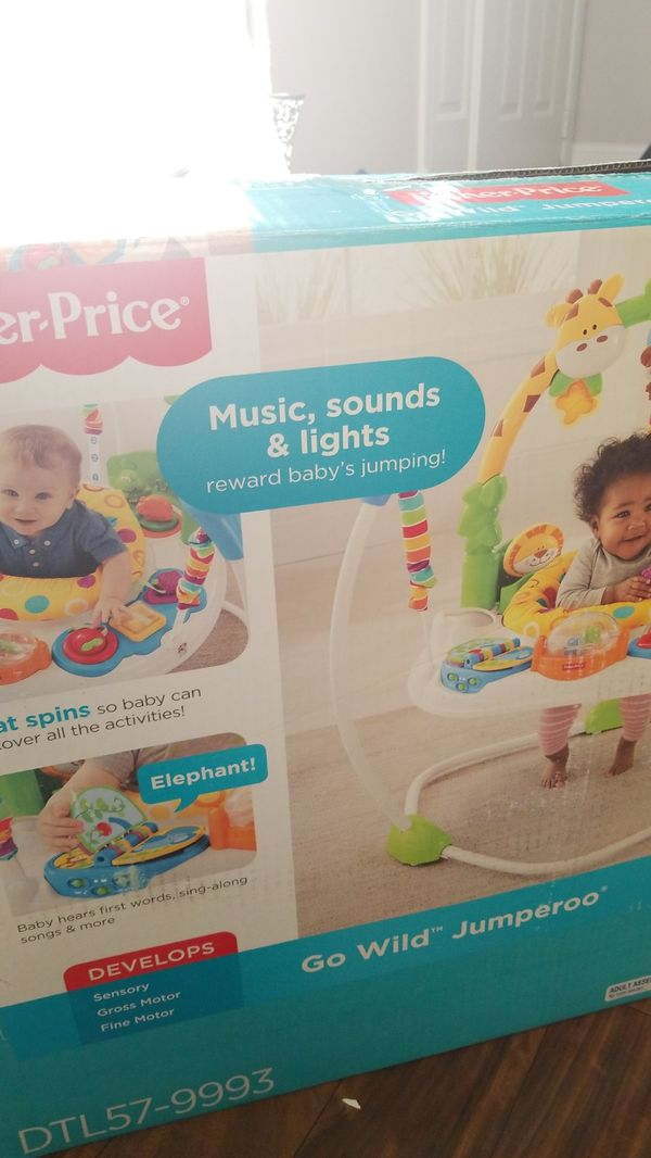 fbf4edce4 Fisher-price Go Wild Jumperoo DTL57-9993 for Sale in Orland Hills ...