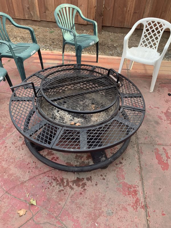 Outdoor Fire Pit Grill San Mateo