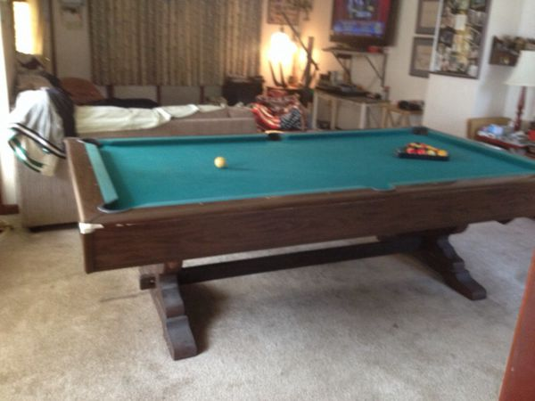 Dunham Made By Brunswick Slate Pooltable For Sale In Nesquehoning - Brunswick dunham pool table