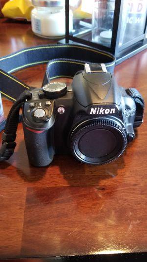 Nikon D3100 DSLR Camera, 2 lenses, charging pack & cleaning kit. for Sale in Houston, TX