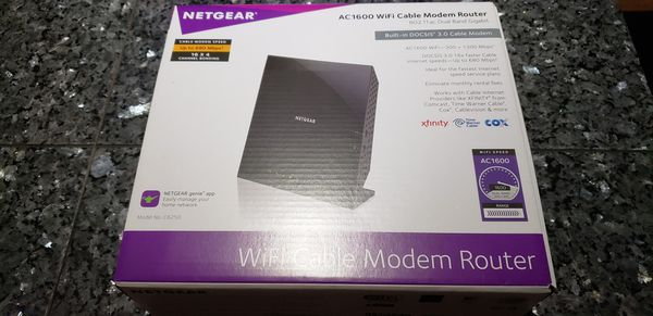 Ac 1600 wifi Cable modem router Comcast Xfinity time Warner cox for Sale in  Sarasota, FL - OfferUp