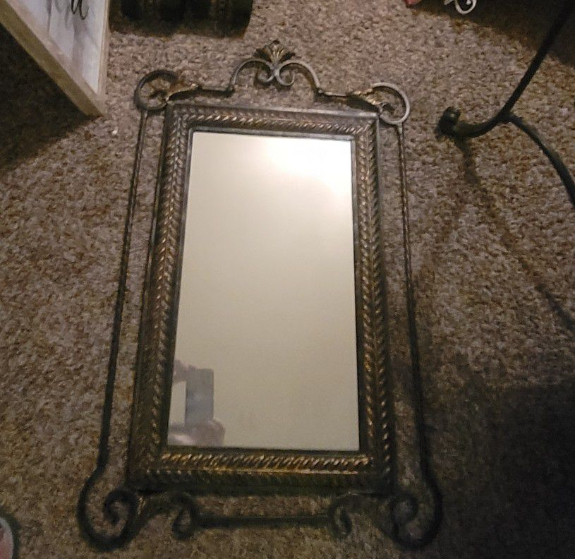 Entry Table, Mirror, Sconces