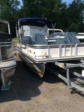 2008 harris super sunliner 230lx pontoon boat