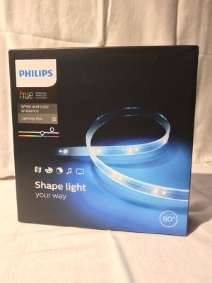 Philips HUE White & Color Ambiance Lightstrip Plus for Sale in Miami, FL