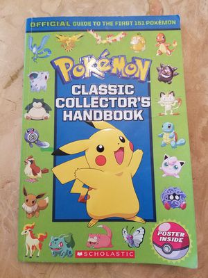 Pokemon Collection Handbook for Sale in Cleveland, OH