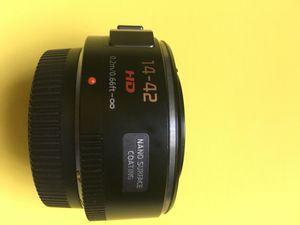 Panasonic Lumix G X Vario PZ 14-42mm f/3.5-5.6 Power O.I.S. Pancake lens. for Sale in Rockville, MD