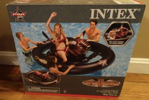 Intex PBR Inflatabull Bull-Riding Giant Inflatable Swimming Pool Lake Fun Float for Sale in NEW CARROLLTN, MD
