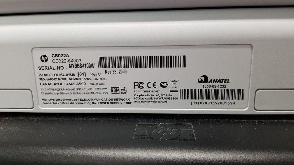 HP Jet Pro 8500 Printer