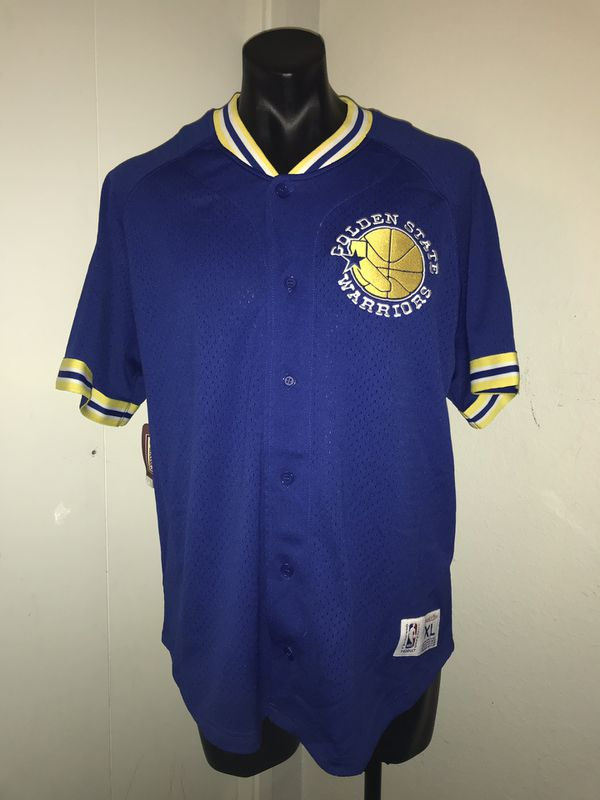 save off 712f4 3a462 *Brand New* Golden State Warriors Baseball Jersey for Sale in Oakland, CA -  OfferUp