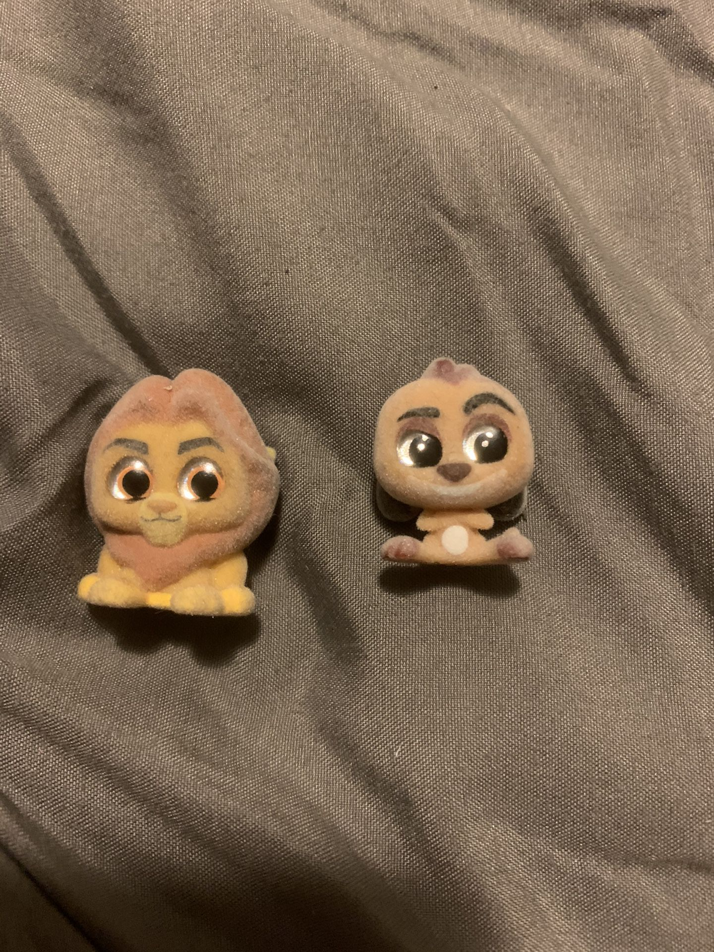 Doorables special edition mufasa and Timon