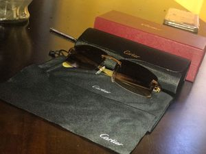 f3f8fcdc147 Authentic Cartier Glasses for Sale in Akron