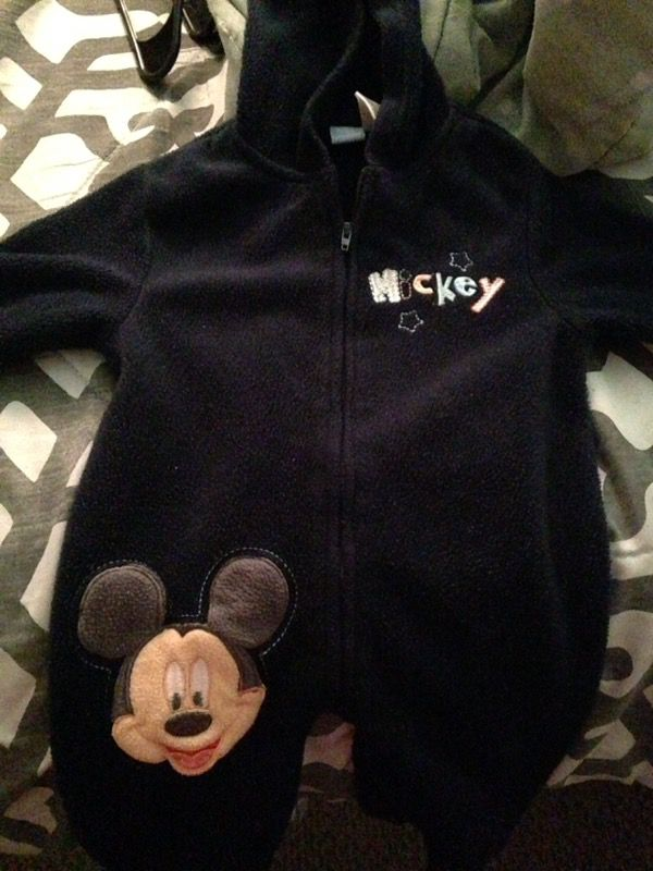 6/9 Month Mickey outfit