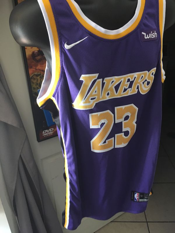 new product cb3ad 19dc2 Size 50 Purple Lebron James Lakers Jersey for Sale in Lynwood, CA - OfferUp