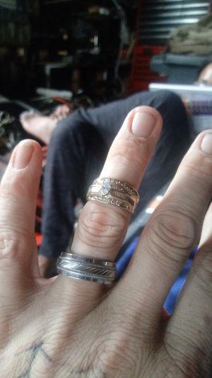 Brand new 14 karat 1 karat total Diamond women's ring for Sale in Montgomery Village, MD