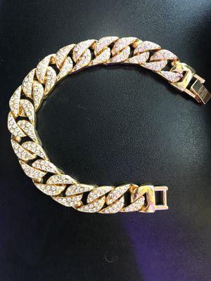 Gold plated Cuban bracelet for Sale in Ashburn, VA