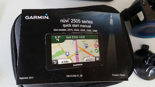 Garmin GPS Nuvi 2595 LMT for Sale in Sylmar, CA - OfferUp