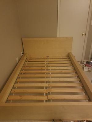 Full Size Bed Frame and Slacks! for Sale in Silver Spring, MD