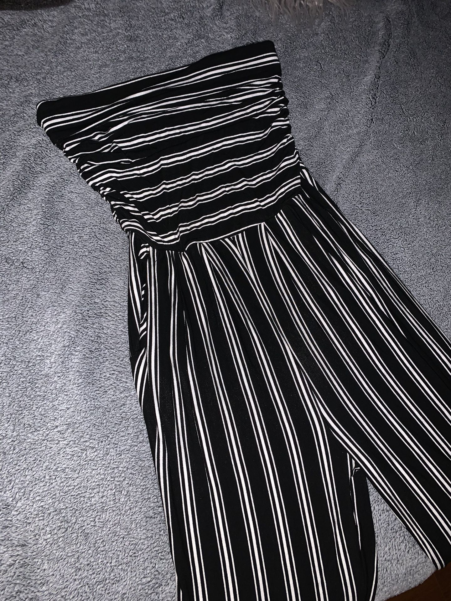 Strapless Jumpsuit Size Small
