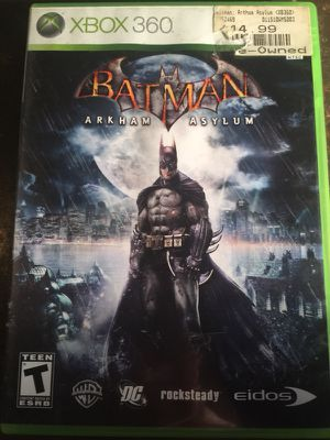 Batman Arkham Asylum for Sale in St. Louis, MO