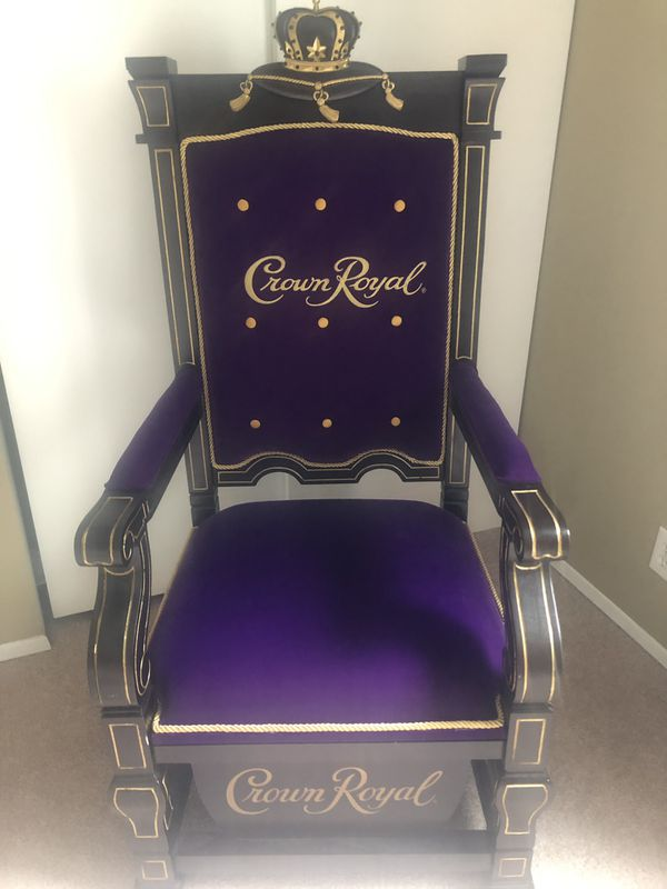 Man Cave Crown Royal Chair Brand New Never Sat On For