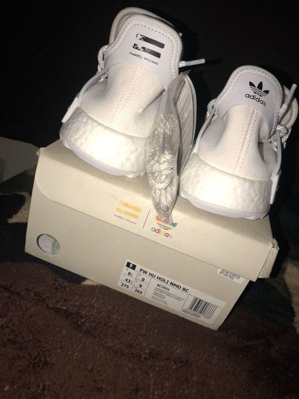 Pharrell X Pharrell Adidas calzado) NMD Hu Cream Trail Blank Canvas Cream (Ropa y calzado) 5173fac - rspr.host