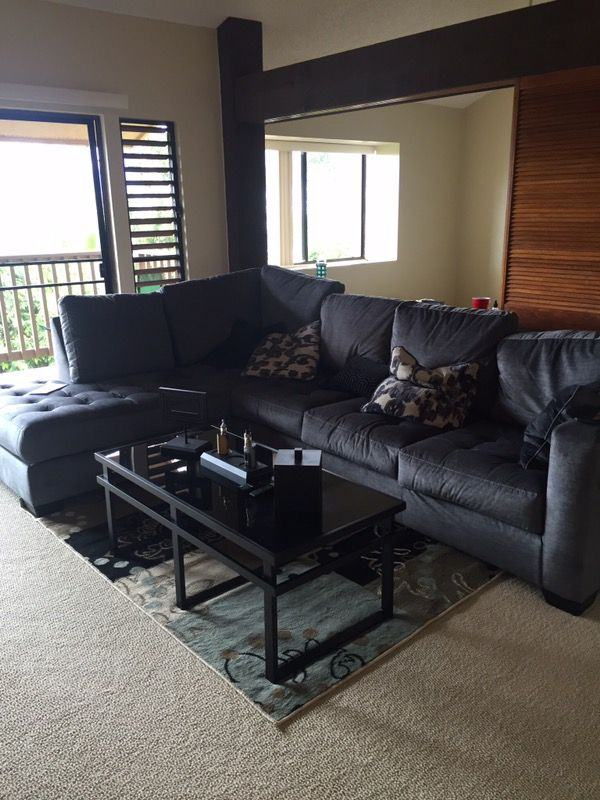Ashley Furniture Owensbe 2 Piece Sectional Will Deliver For In Kaneohe Hi Offerup